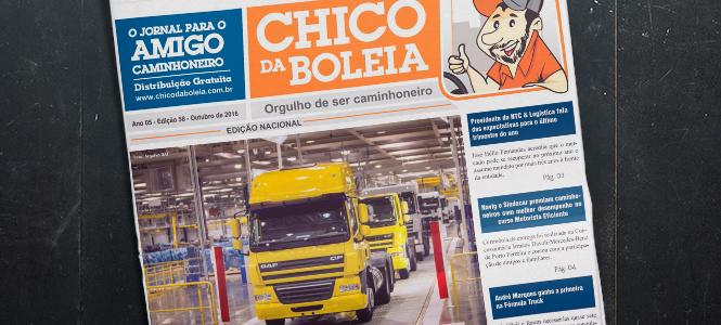 58ª Edição Nacional – Jornal Chico da Boleia
