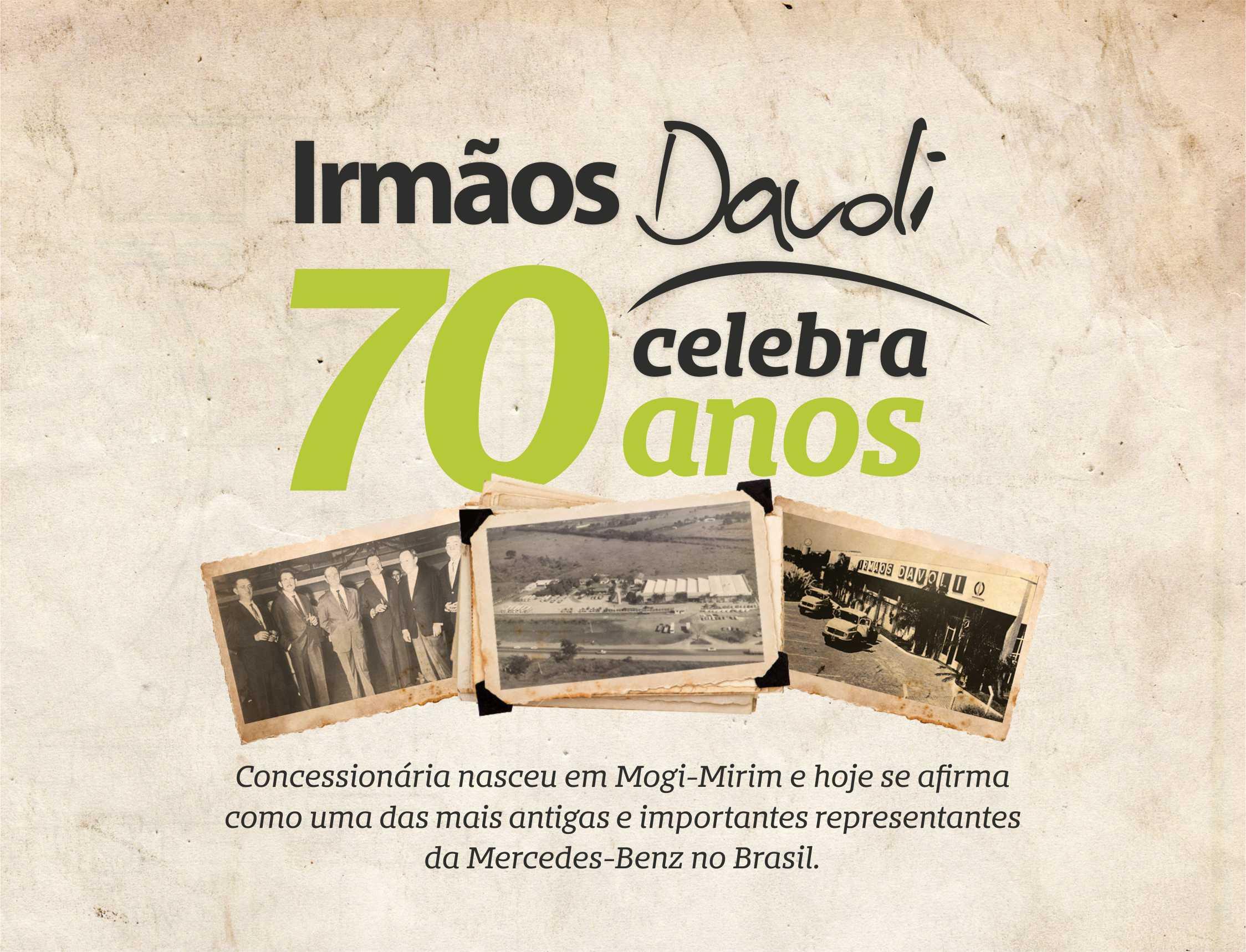 Irmãos Davoli celebra 70 anos