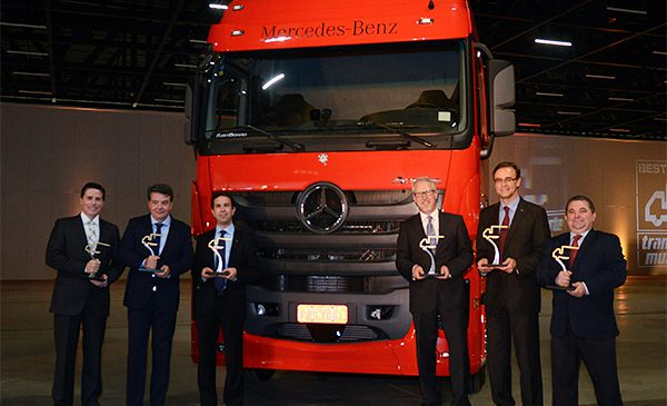 "Mercedes-Benz do Brasil é a grande vencedora do prêmio ""Best Trucks 2016"""