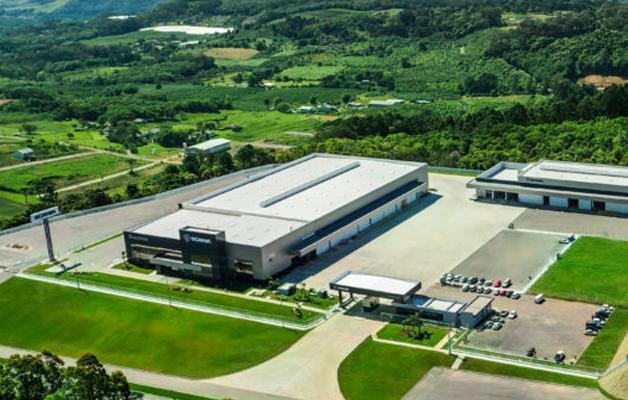 Scania inaugura no Rio Grande do Sul sua maior concessionária no mundo