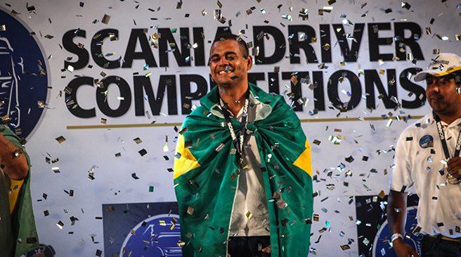 Brasileiro leva o título de melhor motorista de caminhão da América Latina