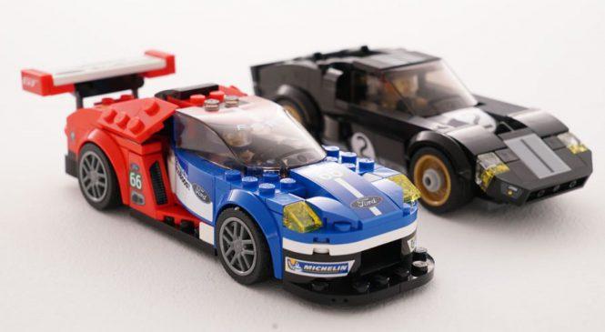 Ford GT40 e novo GT são imortalizados em coleção da Lego