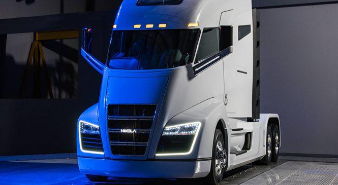 Caminhão de 1.014 cv movido a hidrogênio é apresentado nos EUA