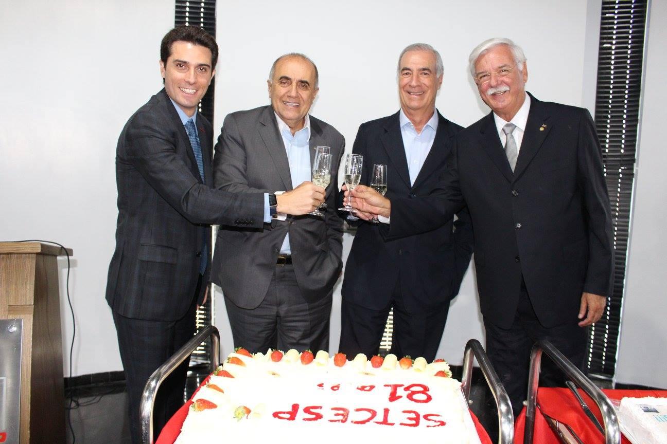 SETCESP comemora aniversário de 81 anos