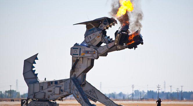 O inacreditável Truck Robosaurus