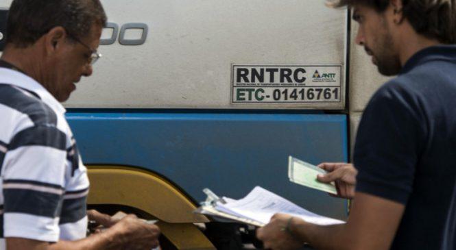 Documentos para o RNTRC – ANTT (Autônomo)