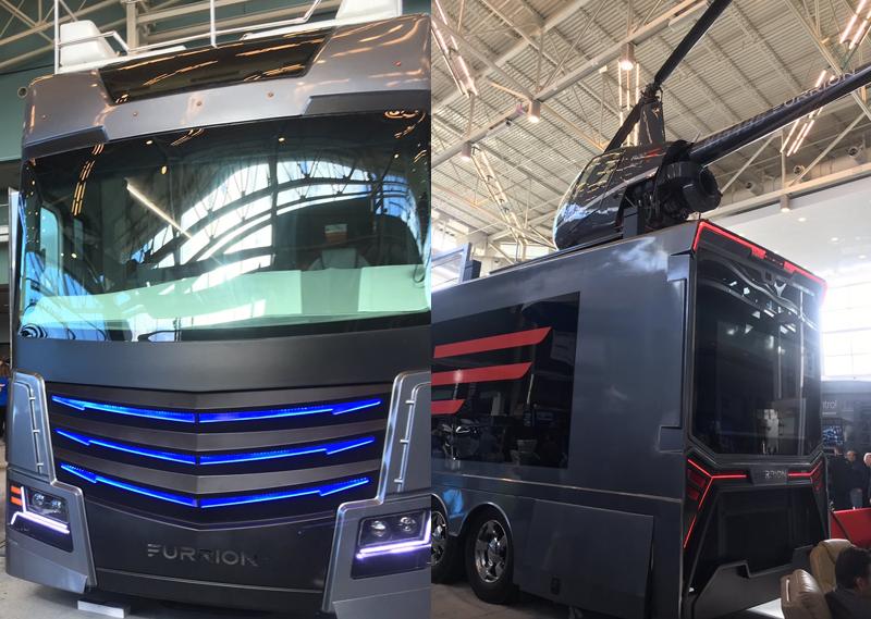 Casa de luxo sobre rodas com heliporto é lançada na CES 2017