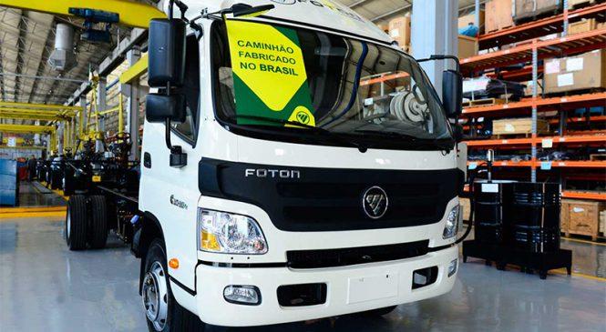 Foton Caminhões inicia em março a comercialização dos produtos nacionais.