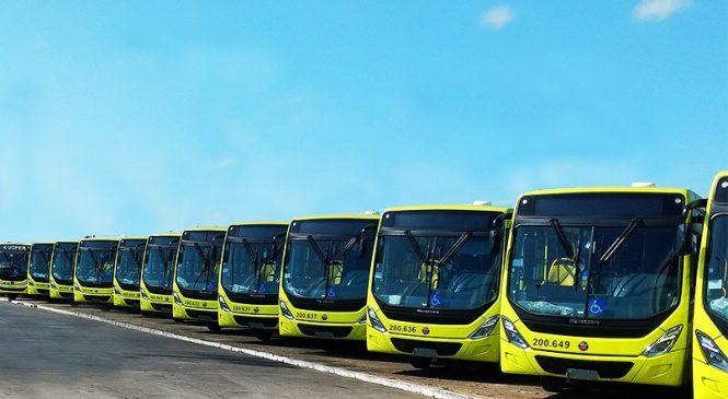 Novos ônibus urbanos Mercedes-Benz entram em operação na capital do Maranhão