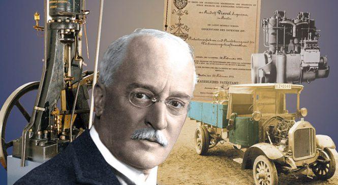 Motor diesel comemora 124 anos de sua invenção