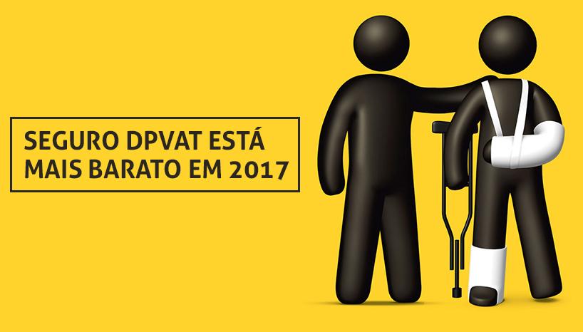 SEGURO DPVAT ESTÁ MAIS BARATO EM 2017