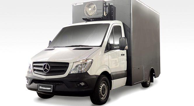 Sprinter chassi com cabina oferece diversas soluções  em transporte e serviços para empreendedores