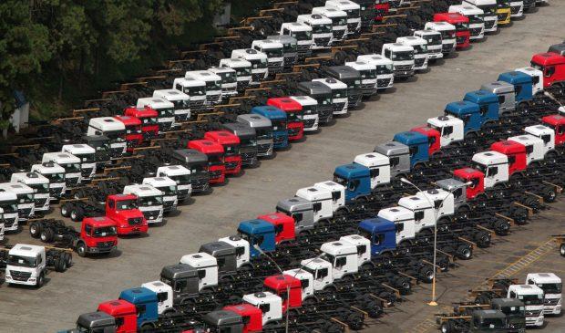 TOP 5 Caminhões emplacados por segmento em janeiro/2017