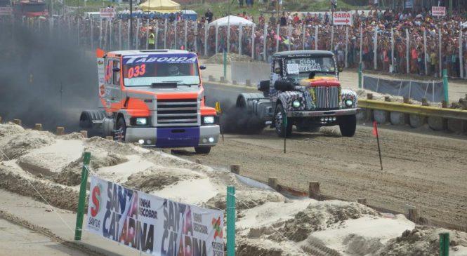 Arrancada de Caminhões movimenta o sul do Brasil
