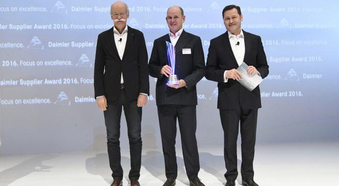 WABCO recebe prêmio de fornecedor do ano da Daimler AG