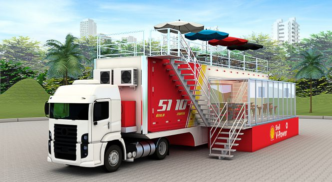 Truckvan desenvolve Camarote Móvel para piloto da Stock Car