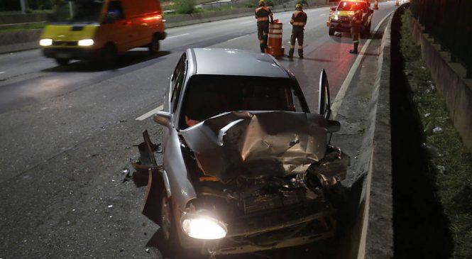 Após novos limites, acidentes nas marginais superam média de 2016