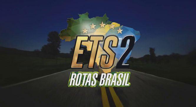 [VÍDEO] Conheça o projeto ETS2 Rotas Brasil, o mais real mapa de rotas brasileiras para Euro Truck Simulator 2