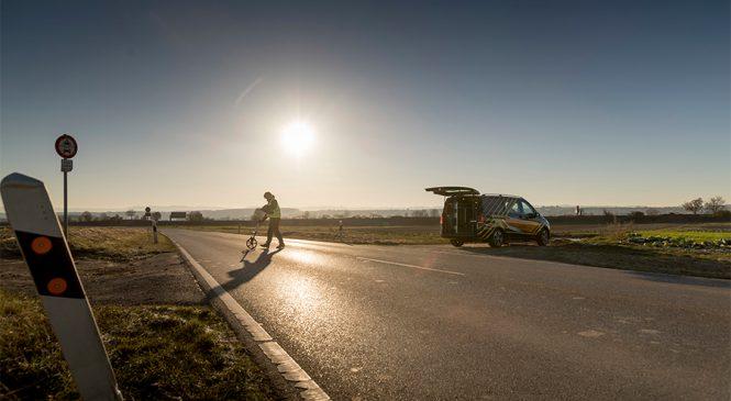 Especialistas investem em pesquisas para aumentar  a segurança das vans Mercedes-Benz