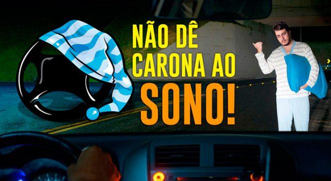 Combate ao sono no volante – entidades de transporte lançam campanha.