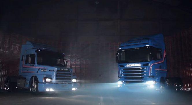 Scania apresenta R 440 em homenagem ao 113 H