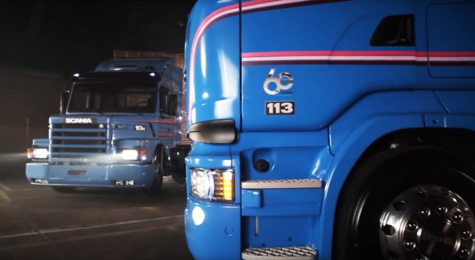 Scania inicia comemorações pelos 60 anos de Brasil marcados por inovação e pioneirismo
