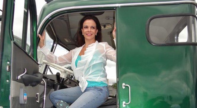 Sula Miranda anuncia projeto de ponto de apoio ao motorista de caminhão