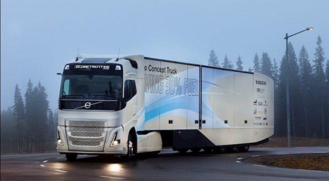 Volvo testa FH com sistema híbrido para transporte de longa distância