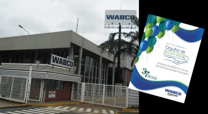 WABCO completa 37 anos de Brasil e homenageia funcionários
