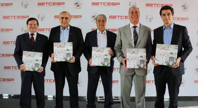 SETCESP lança livro de 80 anos