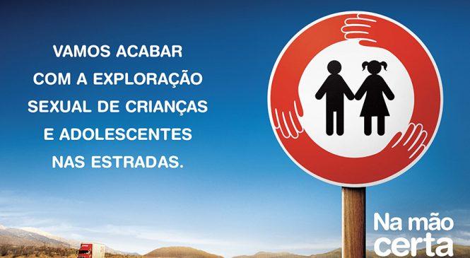 MAN Latin America mantém parceria com o Programa Na Mão Certa no enfrentamento da exploração sexual de crianças e adolescentes nas rodovias brasileiras