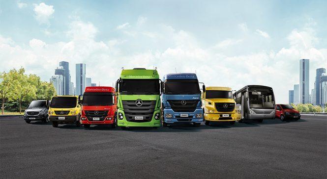 Mercedes-Benz expõe três linhas de peças de reposição para a manutenção de veículos comerciais na Automec