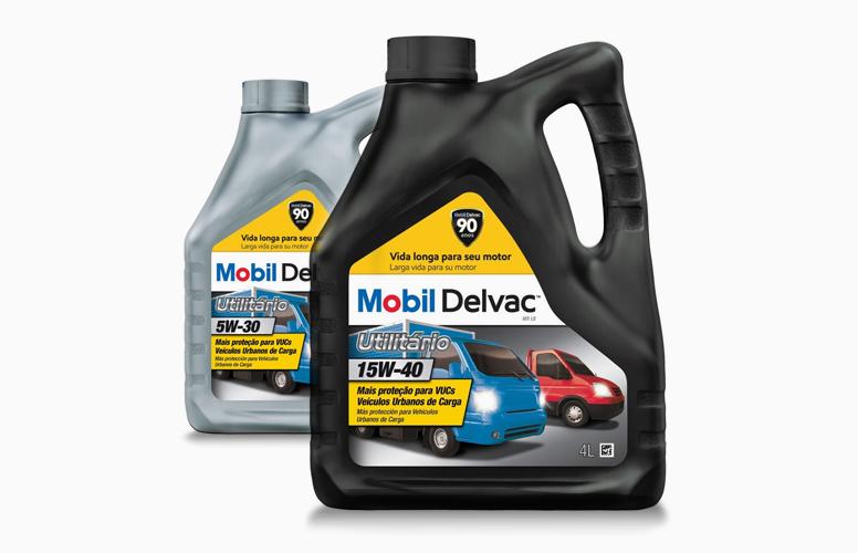 Mobil Delvac é a primeira marca no país a lançar um óleo lubrificante especialmente para os VUCs