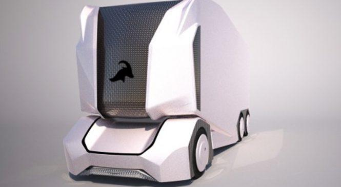 'T-pod', um novo veículo que promete revolucionar as entregas