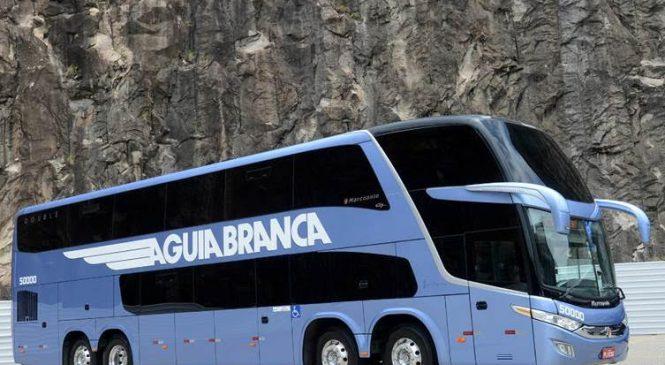 Águia Branca adquire 12 ônibus rodoviários   Mercedes-Benz para Double Decker de 15 metros