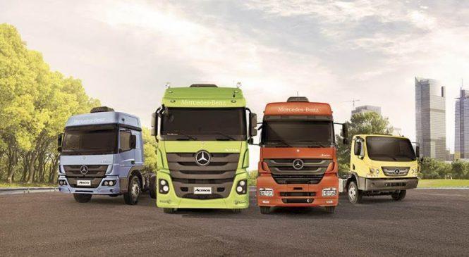 Mercedes-Benz lidera as vendas de caminhões na Argentina