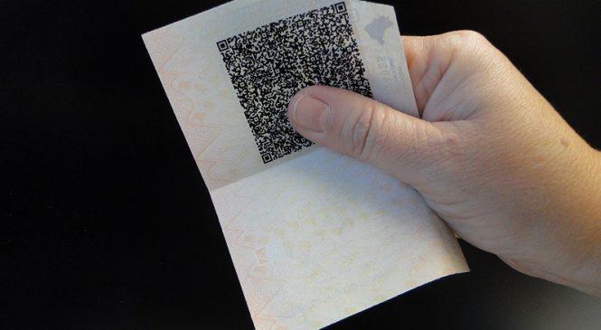 Carteira de Motorista a prova de fraude com QR Code.