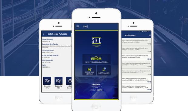 SNE: app do governo federal dá desconto de 40% nas multas