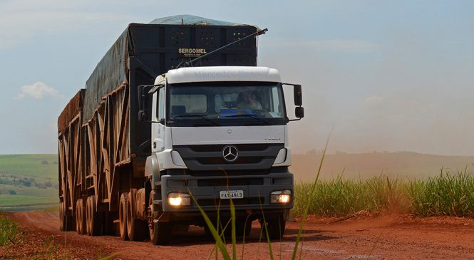 Mercedes-Benz vende 524 caminhões para operação fora de estrada na Raízen