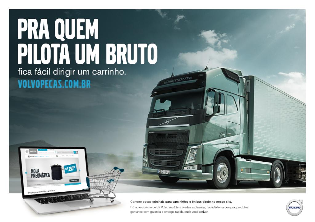 Volvo lança e-commerce de peças no Brasil