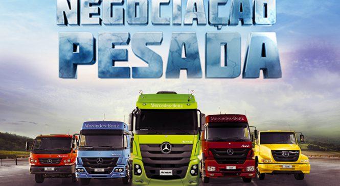 Mercedes-Benz lança campanha nacional para movimentar o mercado de caminhões