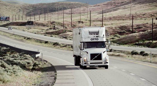 Unidade do caminhão autônomo da Uber está sendo investigada por seus testes