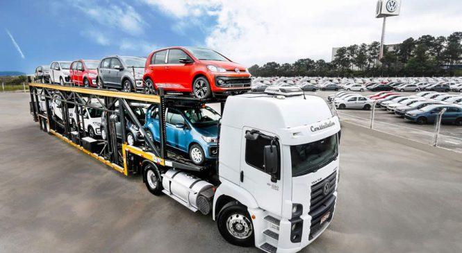 Volkswagen do Brasil registra aumento de mais de 63% nas exportações em 2017