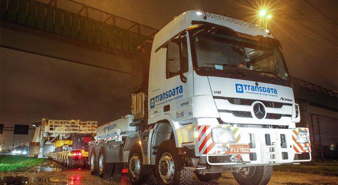 Actros SLT é o caminhão mais forte e robusto em operação no mercado brasileiro