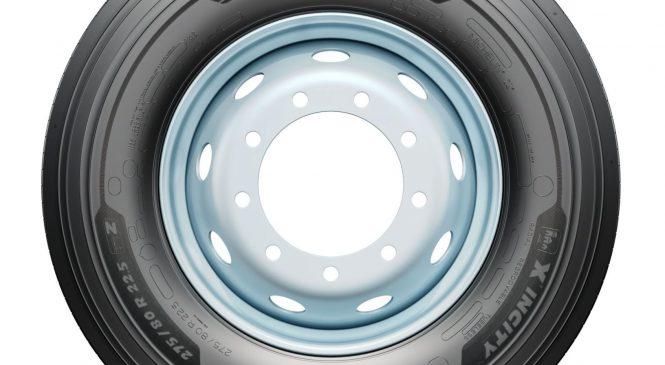 Novo pneu Michelin X Incity Z reúne um conjunto de tecnologias