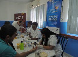 Exames gratuitos para caminhoneiros são realizados em posto na Via Dutra, em Resende, RJ