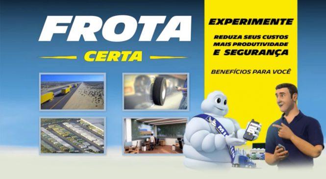 Frota Certa da Michelin inova gestão de parque de pneus.