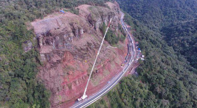 Rodovias sofrem interdição por chuvas em SC