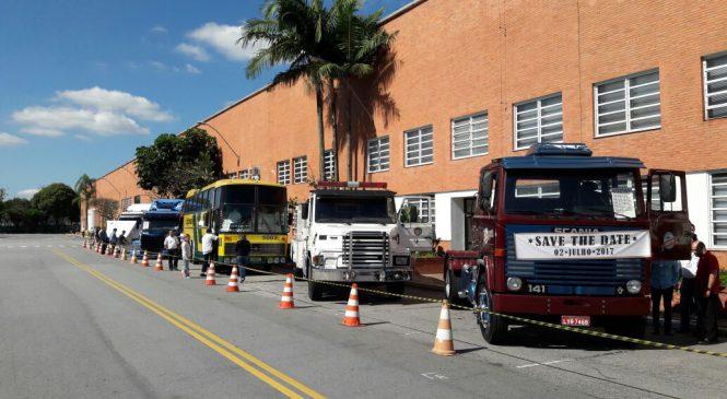 Exposição marca contagem regressiva para os 60 anos da Scania no Brasil