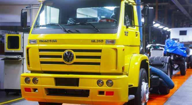 Produzido o último caminhão Volkswagen 18.310 Titan Tractor